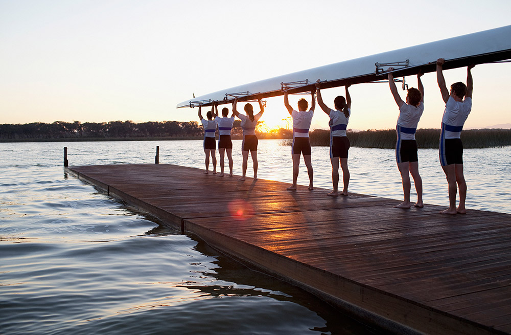 Why your business is like a rowing team